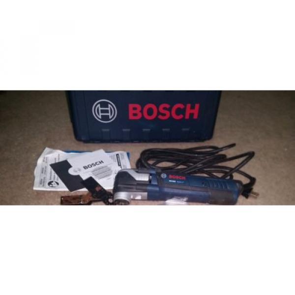 FREE SHIP BOSCH MX30E MULTI-X VARIABLE SPEED CORDED OSCILLATING TOOL, CASE, ACCS #1 image