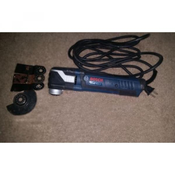 FREE SHIP BOSCH MX30E MULTI-X VARIABLE SPEED CORDED OSCILLATING TOOL, CASE, ACCS #2 image