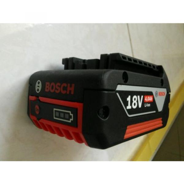 GENUINE Bosch Blue Lithium Ion 18v 4.0Ah battery GBA 18V 4.0Ah M-C #6 image