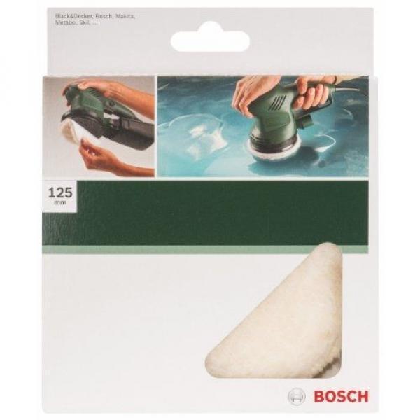 Bosch 2609256049 Lambswool Bonnet for Random Orbit Sander with Diameter 125mm #2 image