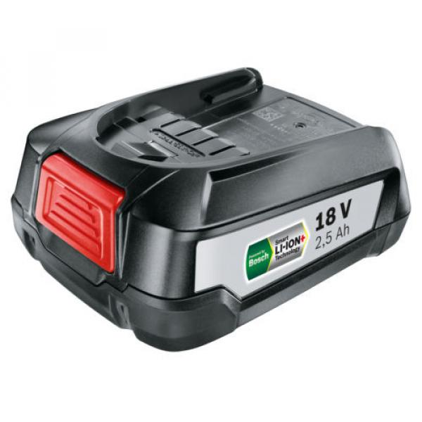 Bosch GREENTOOL Power4ALL 18V 2.5AH Lithium.ION Battery 1600A005B0 3165140821629 #2 image