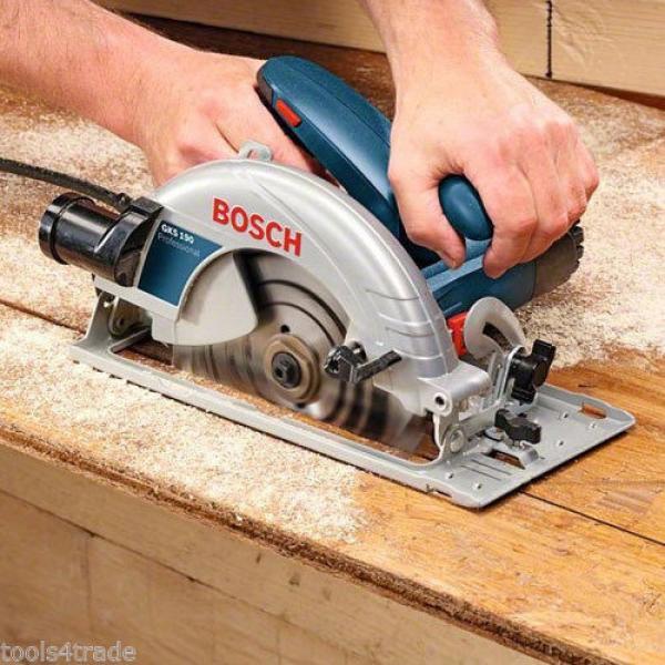 Bosch GKS190 190mm Hand Held Circular Saw 110V 0601623060 #3 image