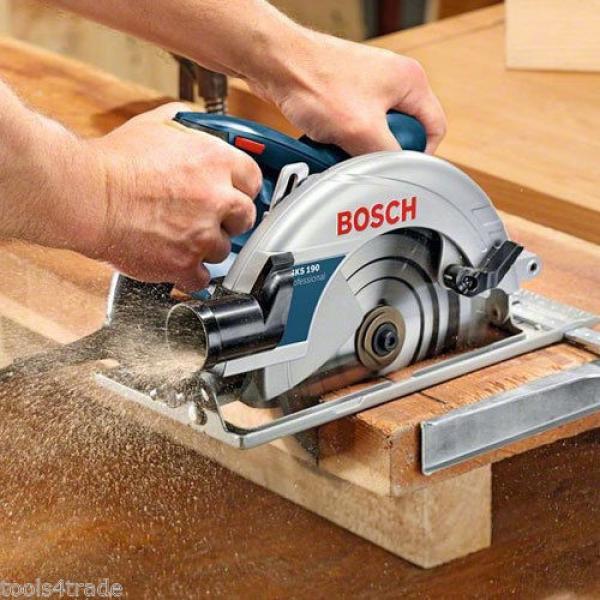 Bosch GKS190 190mm Hand Held Circular Saw 110V 0601623060 #4 image