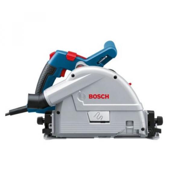 Bosch GKT55GCE 110v Plunge Saw 165mm + Case + 1 x 1.6M Guide Rail + LBOXX New #2 image