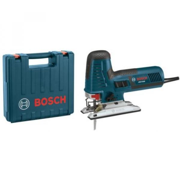 Barrel-Grip Jig Saw Tool Kit 7.2 Amp Corded Variable Speed Case Included Bosch #1 image