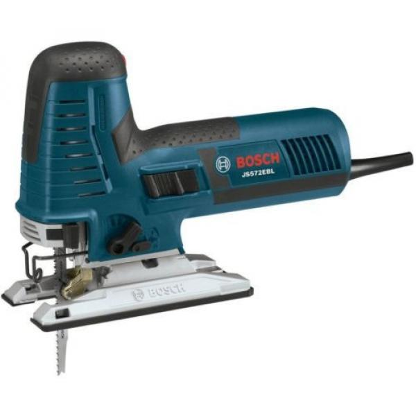 Barrel-Grip Jig Saw Tool Kit 7.2 Amp Corded Variable Speed Case Included Bosch #2 image