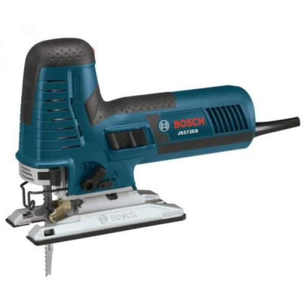 Barrel-Grip Jig Saw Tool Kit 7.2 Amp Corded Variable Speed Case Included Bosch #3 image