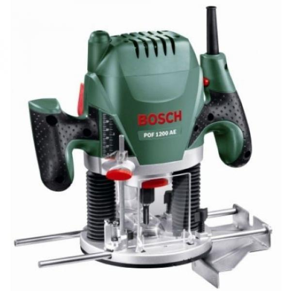 Bosch POF 1200 AE Router With Vacuum Adaptor and Clamping Lever, SDS System #1 image