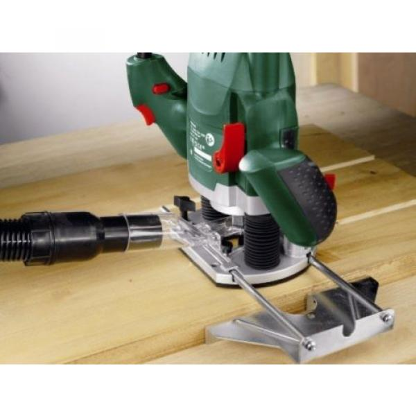 Bosch POF 1200 AE Router With Vacuum Adaptor and Clamping Lever, SDS System #5 image