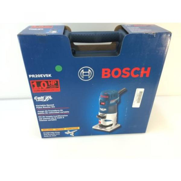 * Bosch PR20EVSK 5.6 Amp Corded 1 Horse Power Variable Speed Colt Palm Router #2 image