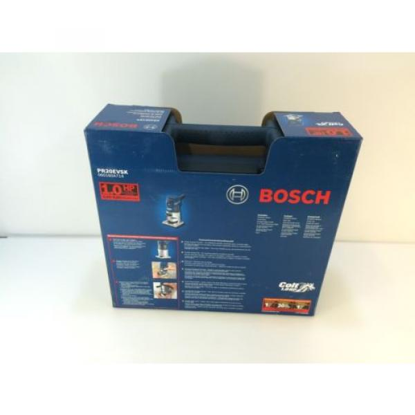 * Bosch PR20EVSK 5.6 Amp Corded 1 Horse Power Variable Speed Colt Palm Router #4 image
