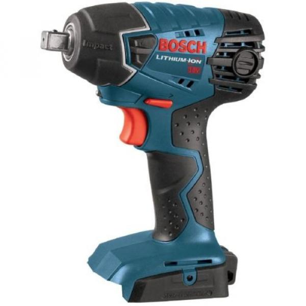Bosch 18 Volt Lithium-Ion Cordless Electric 1/2 in. Impact Wrench with LED #1 image