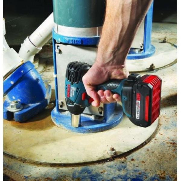 Bosch 18 Volt Lithium-Ion Cordless Electric 1/2 in. Impact Wrench with LED #3 image