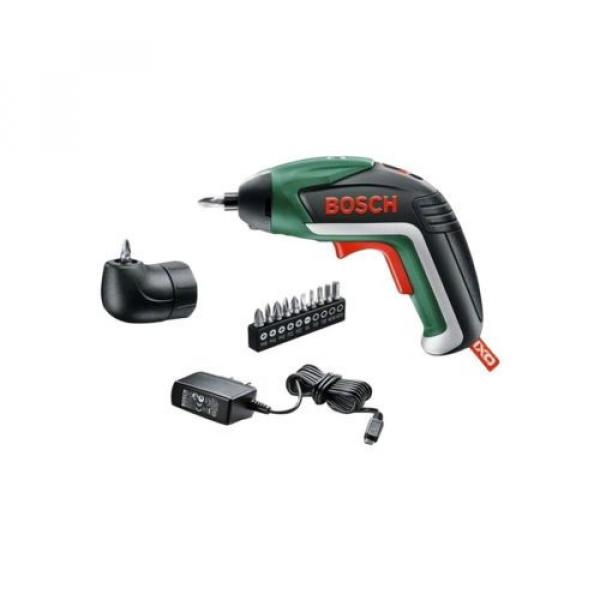 Bosch IXO V Cordless Screwdriver with Charger and Screw Bit Set #1 image