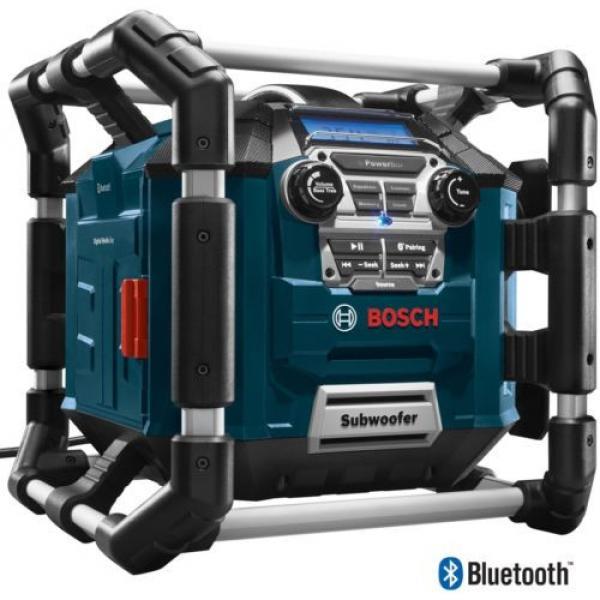 New Water Resistant Cordless Bluetooth Capability Jobsite Radio 18v Job Site #4 image