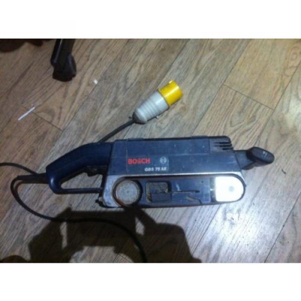 BOSCH GBS 75 AE Belt Sander 110v #1 image