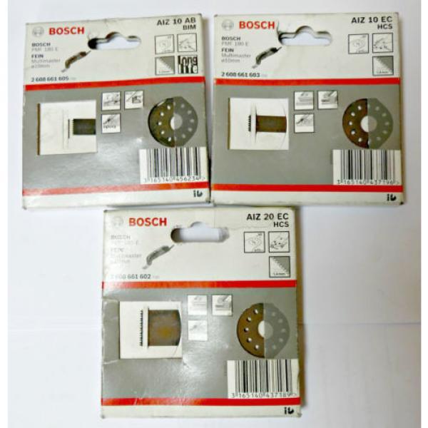 Bosch AIZ 10 AB AIZ 20 EC AIZ 10 EC originali per BOSH PMF 180 E FEIN multimaste #1 image