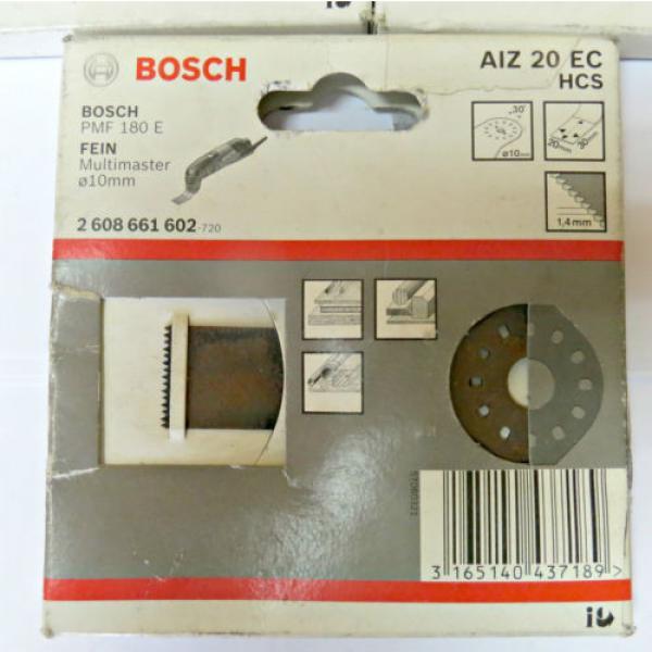 Bosch AIZ 10 AB AIZ 20 EC AIZ 10 EC originali per BOSH PMF 180 E FEIN multimaste #2 image