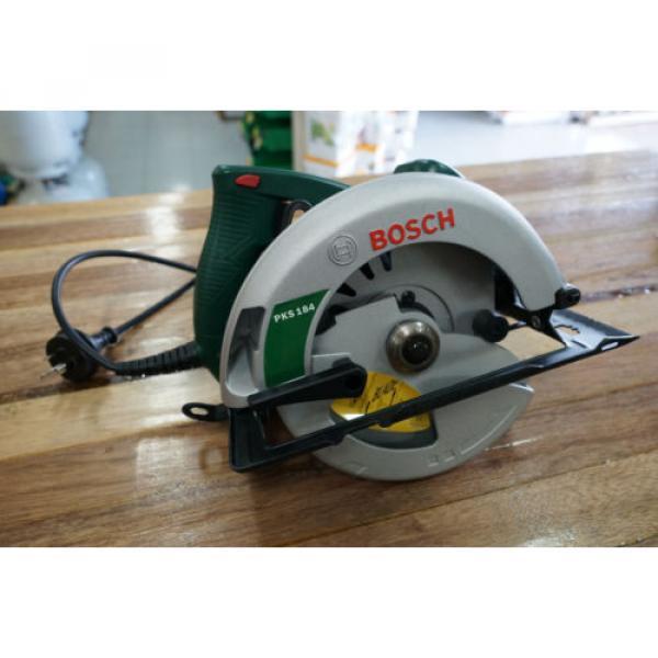 "Bosch PKS184 1500 Watt Circular Power Saw 184mm 7 1/4"" Brand New Includes Blade #1 image"