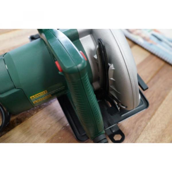 "Bosch PKS184 1500 Watt Circular Power Saw 184mm 7 1/4"" Brand New Includes Blade #7 image"