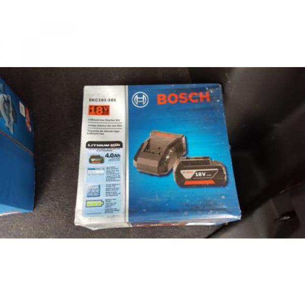 "Bosch 6.5"" Circular Saw CCS180B 18V And SKC181-101 Lithium Ion Starter Kit 18V #2 image"