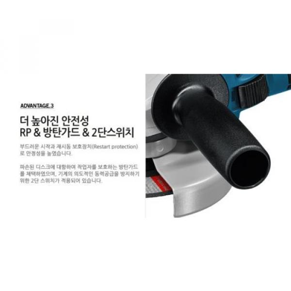 Authentic BOSCH GWS18V-LI Rechargeable Cordless Electric Small Angle Grinder DIY #5 image