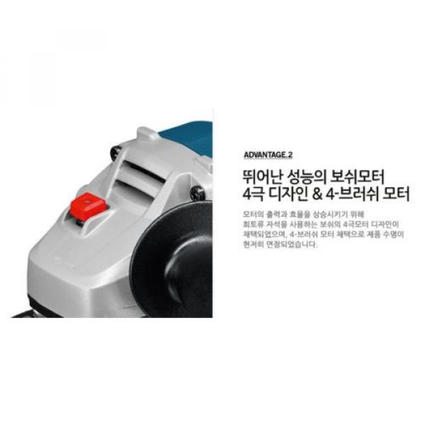 Authentic BOSCH GWS18V-LI Rechargeable Cordless Electric Small Angle Grinder DIY #8 image