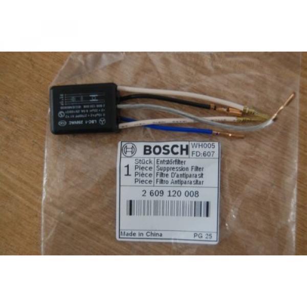 Bosch Suppression Filter for GEX150 Turbo Orbital Sander - 2609120008  (5 Wires) #2 image