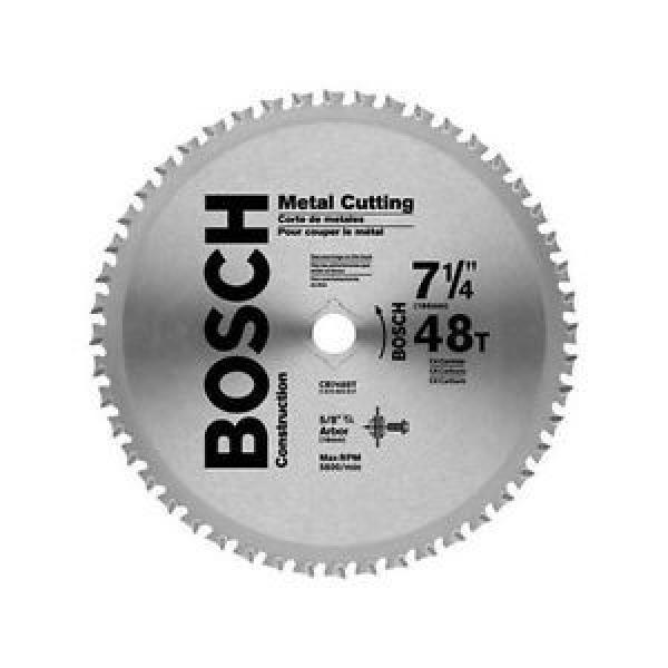 "Bosch 7-1/4"" 48-Tooth Metal Cutting Circular Saw Blade CB748ST New #1 image"