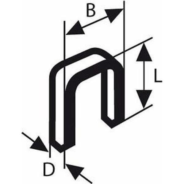Bosch 2609255830 - Punti stretti a corona, 28 mm, Modello 55 (Confezione da 1000 #1 image