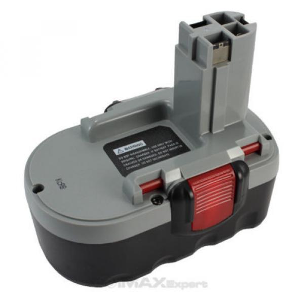 2 x 3.0AH 18V Extended Bosch Ni-Mh Battery for  BAT180 13618 1644 1659K... #3 image