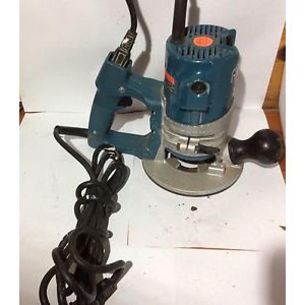 Bosch fixed base router 1606   25,000 rpm  1120 watt 10amp #1 image