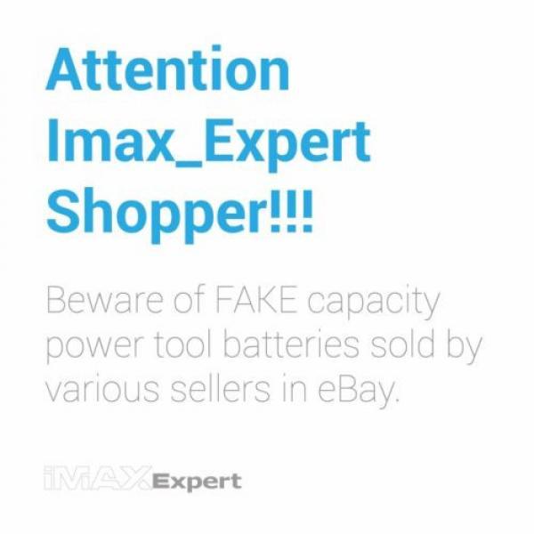 2 x 3.0AH 18V Extended Bosch Ni-Mh Battery for  BAT180 13618 1644 1659K... #5 image
