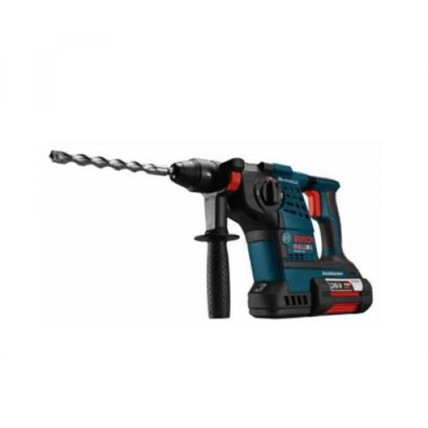 36-Volt Lithium-Ion 1-1/8 in. Cordless Rotary Hammer Drill Hand Tool Blue + Case #3 image