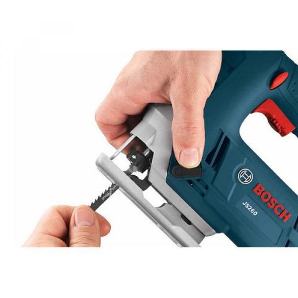 Bosch 6-Amp Keyless T Shank Variable Speed Corded Jigsaw #3 image