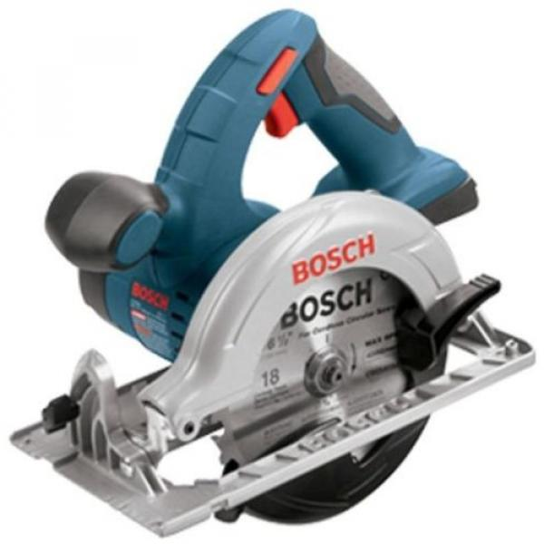 Bosch 18 Volt Lithium Ion Cordless Electric 6-1/2 in Circular Saw Powerful New #1 image