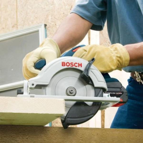 Bosch 18 Volt Lithium Ion Cordless Electric 6-1/2 in Circular Saw Powerful New #2 image