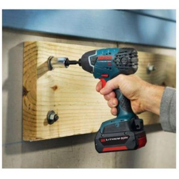 2-Tool 18-Volt Lithium-Ion Cordless 1/2 in Compact Tough Hammer Drill Driver Kit #3 image