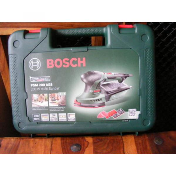 Brand New in Case 2 in 1 Bosch Multi-Sanders PSM 200 AES 200 W 240v #1 image