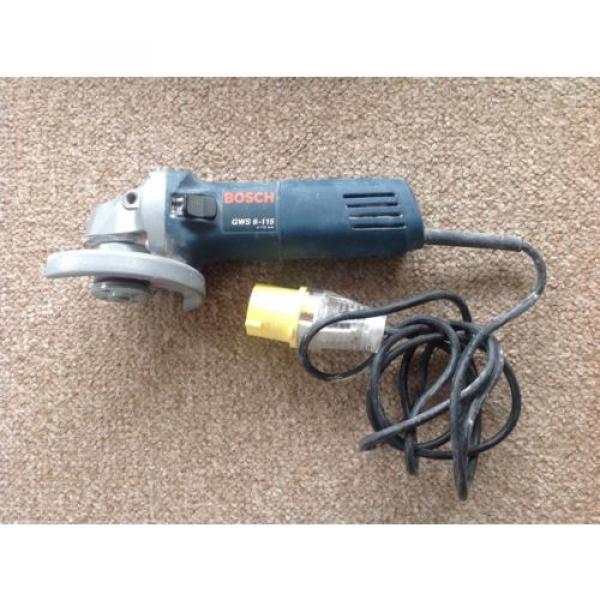 Bosch GWS 6-115 Professional 110 Volt Grinder #1 image