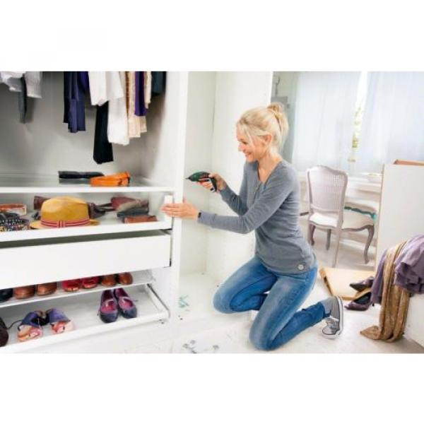 Bosch IXO Cordless Screwdriver with Integrated 3.6 V Lithium-Ion Battery #6 image