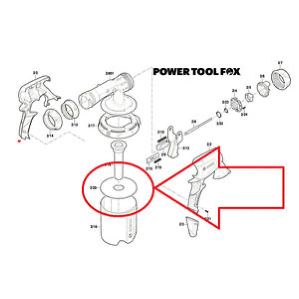 Bosch PFS 3000 SOFT FELT Sealing GASKET RING 2609006628 565 #1 image