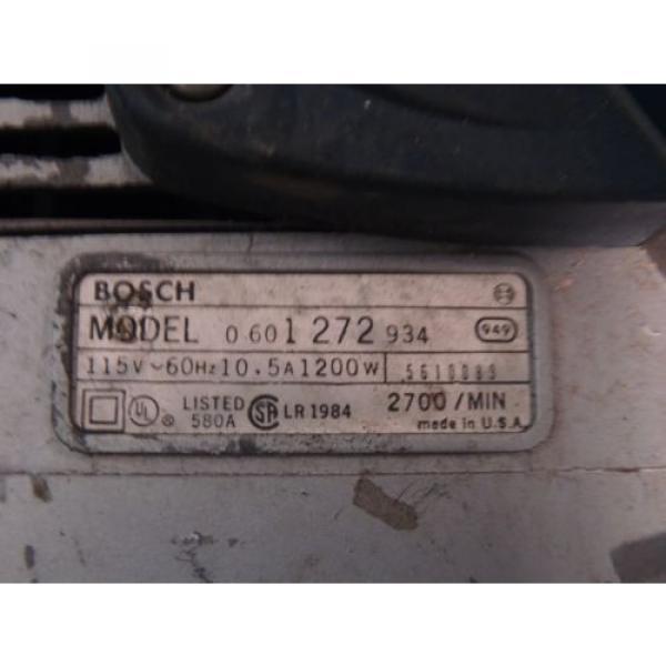 Bosch 3 x 24 Variable Speed Belt Sander 1272 with Bag USA #7 image