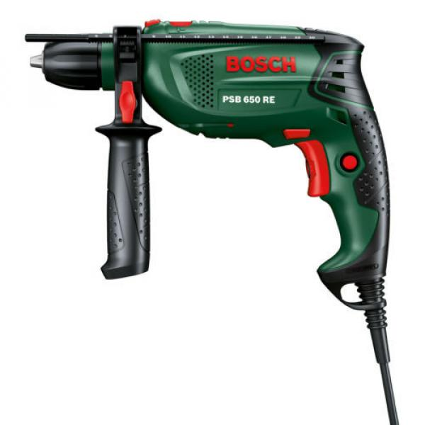 new - Bosch PSB 650 RE Compact Corded IMPACT DRILL 0603128070 3165140512374 #1 image