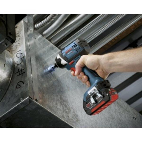 Bosch IDS181-01 18-Volt Lithium-Ion Compact 1/4-Inch Hex Impact Driver with 2 #4 image
