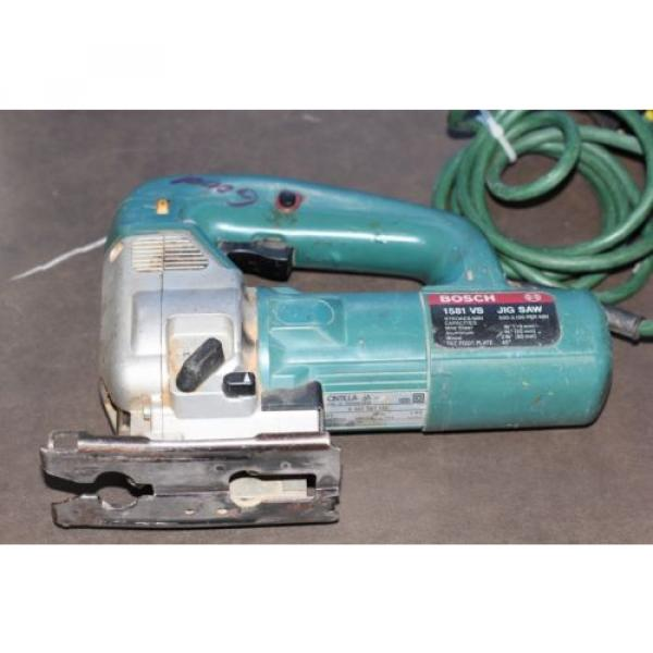 BOSCH 1581 VS 4.8 AMP VARIABLE SPEED JIG SAW #1 image