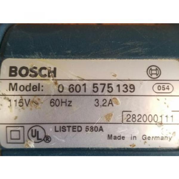 Used Bosch Foam Cutter 1575A / For Cutting Foam #5 image