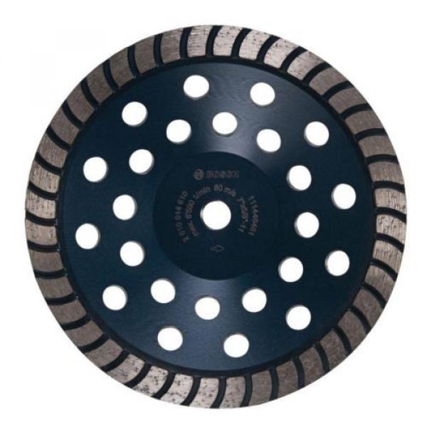 Bosch 7 in. Turbo Row Diamond Cup Wheel #1 image