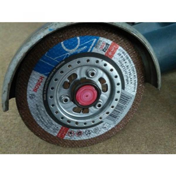 Amoladora y Atornillador a bateria Bosch + 15 discos de corte sds rapido #2 image