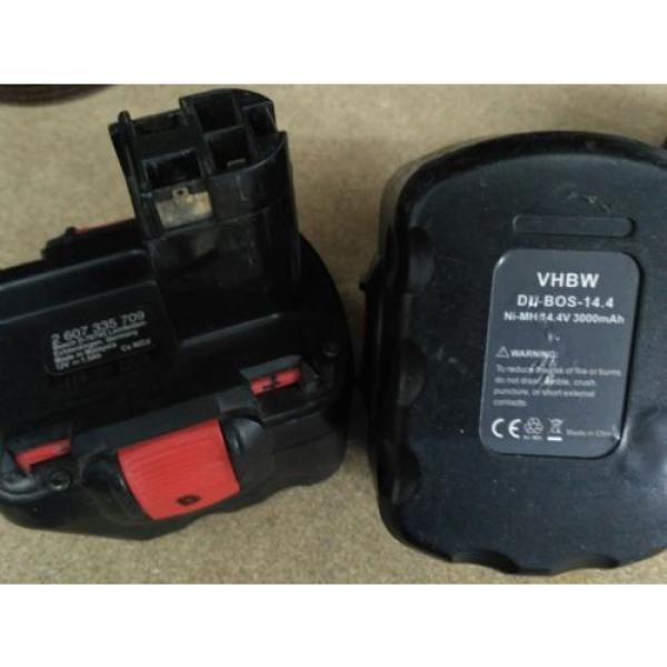 Amoladora y Atornillador a bateria Bosch + 15 discos de corte sds rapido #3 image